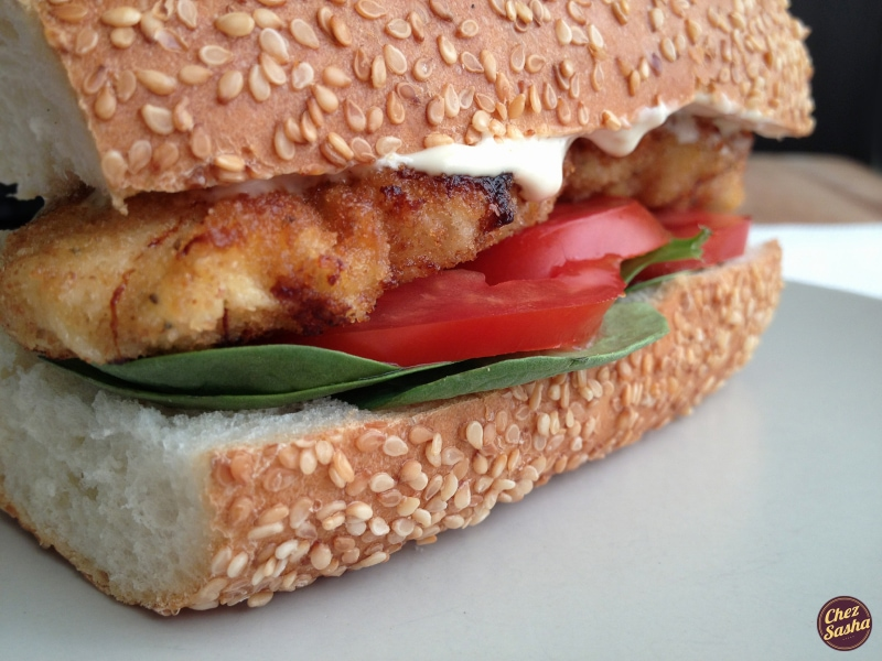 Sandwich of the Month: Chicken Schnitzel