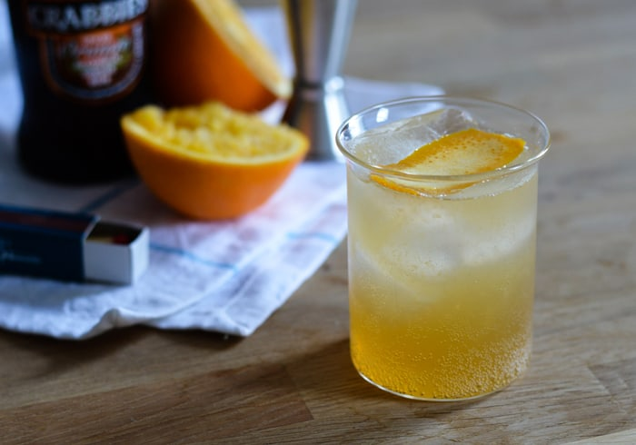 Orange Moscow Mule with Crabbie's Ginger Beer | The New Baguette