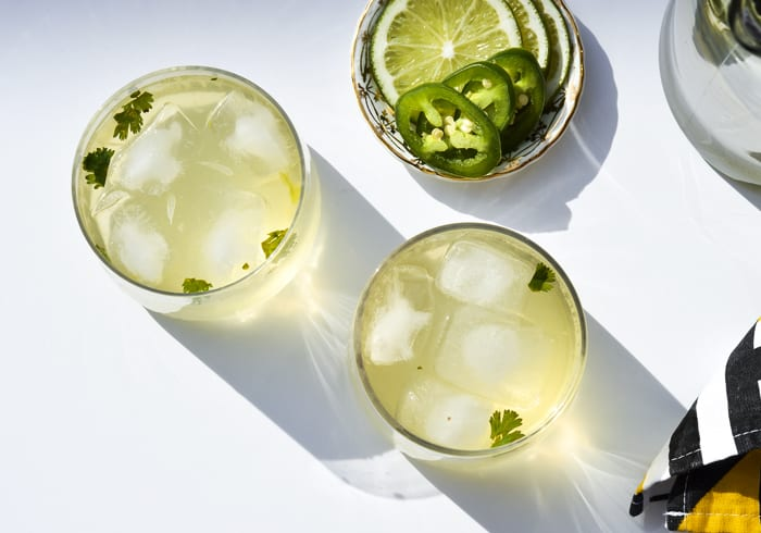 Cocktail Hour: Spicy Senorita White Wine Spritzer