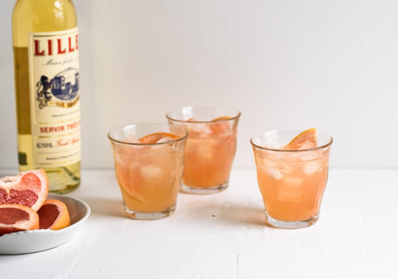 Lillet-Grapefruit Spritzer
