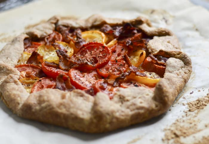 Tomato Galette Recipe | Labor Day Recipe Ideas