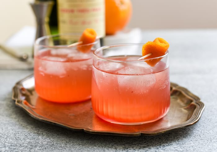 Cocktail Hour: Cranberry-Orange Holiday Punch with Lillet (Plus 2016 Reflections)