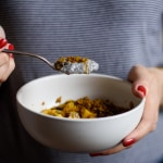 Cardamom Chia Pudding with Mango and Turmeric Granola | The New Baguette