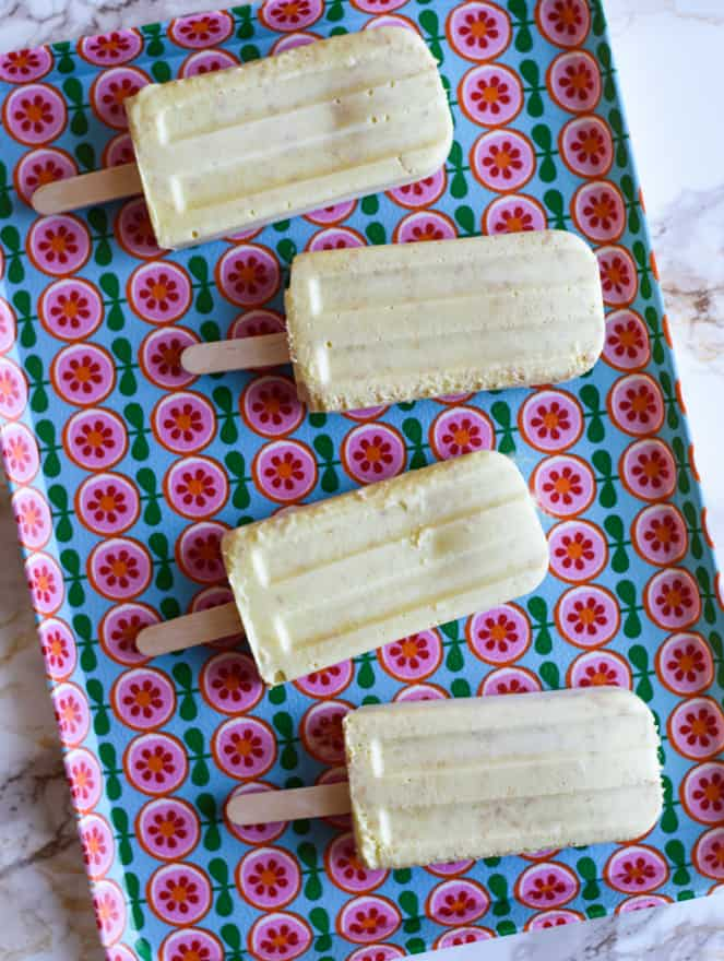 Toasted Coconut Mango Creamsicles | Vegan Dessert Recipes | The New Baguette