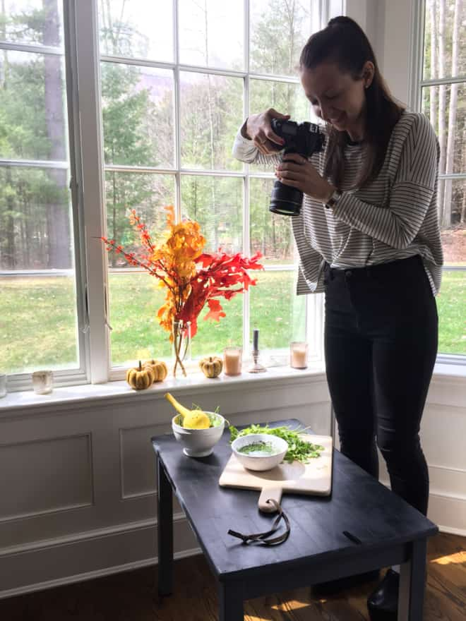 Behind the scenes of the Friendsgiving cookbook