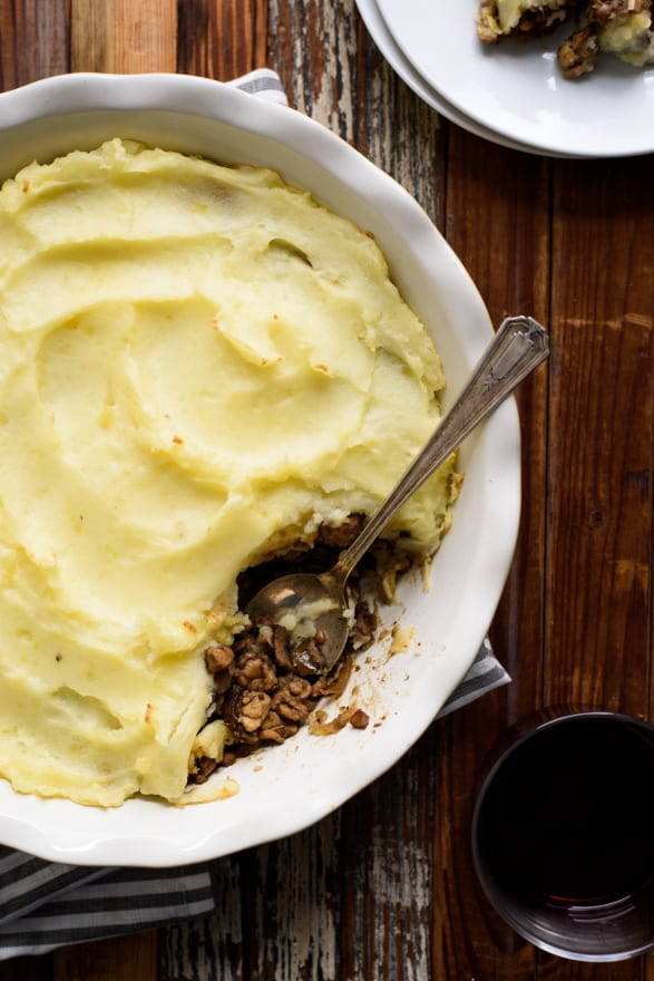 Vegetarian Shepherd S Pie With Mushrooms And Tempeh The