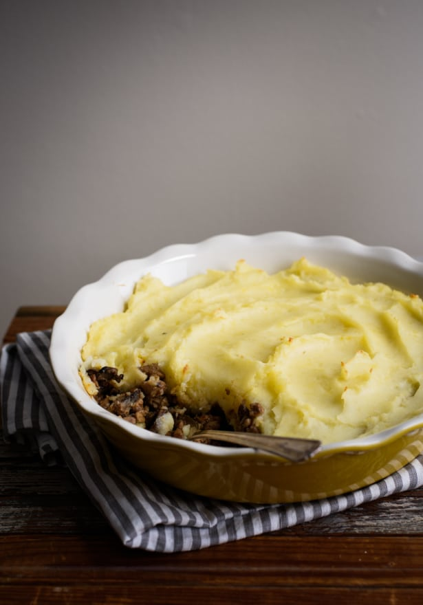 Vegetarian Shepherd's Pie with Mushrooms and Tempeh   Vegetarian Main Course Ideas   The New Baguette