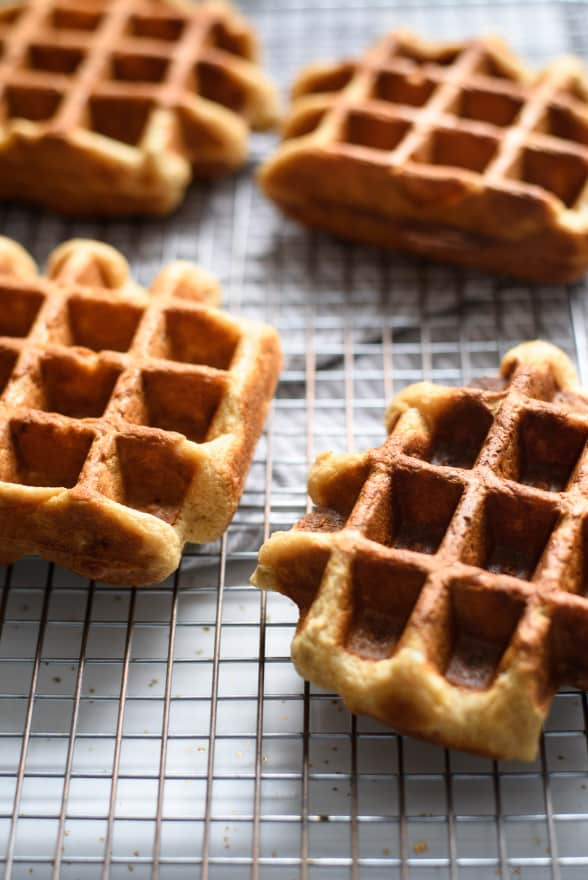 Easy Oat Waffles with Sweet & Savory Toppings   Valentine's Day Recipes   The New Baguette