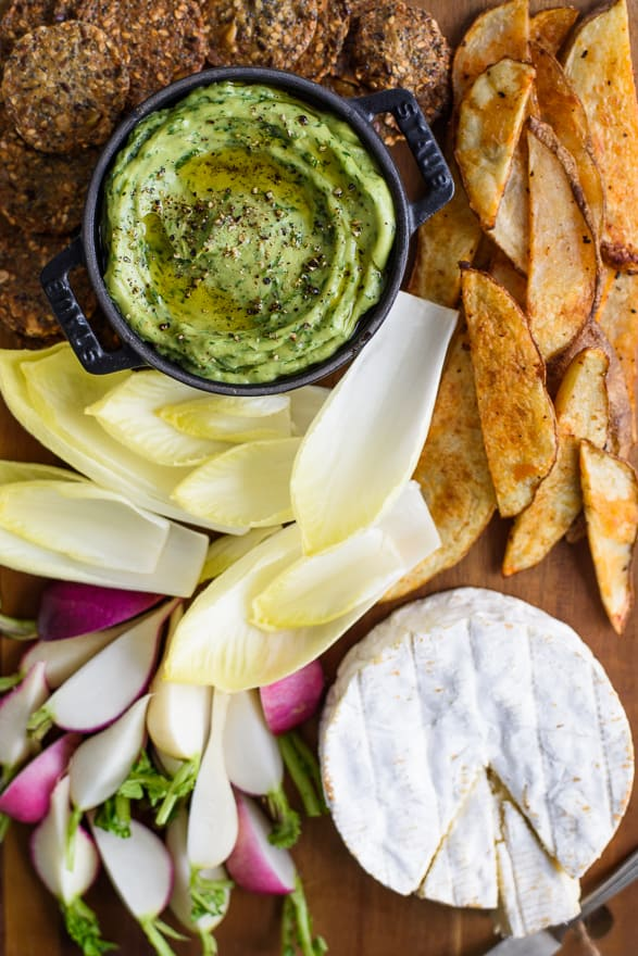 Yes Way, Buffet: 4 Tips and a Menu for a Festive Spring #Brunch   Artichoke Frittata & Avocado Green Goddess Dip