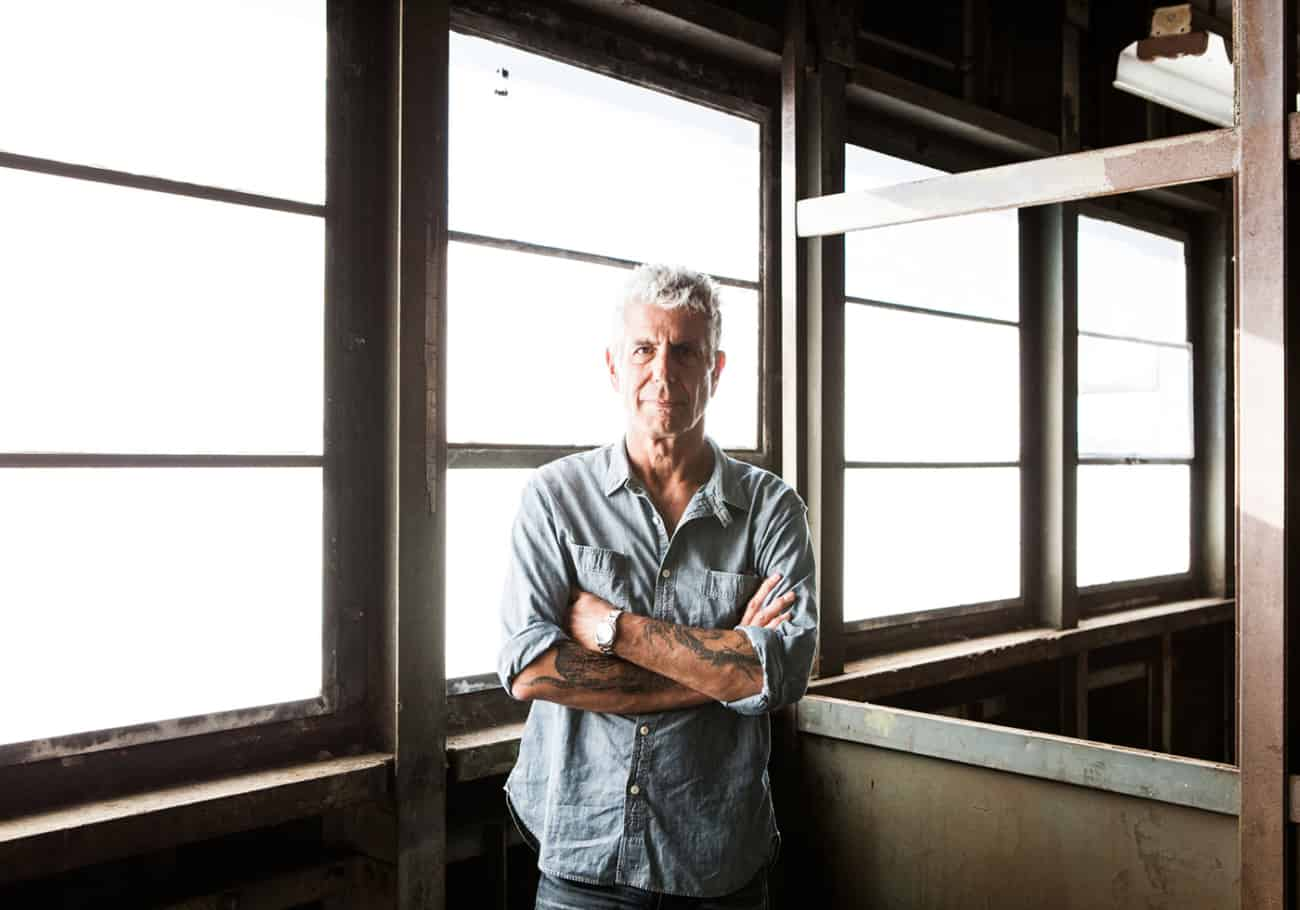 An ode to my idol, Anthony Bourdain