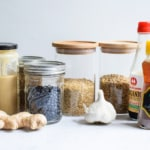 Vegan Pantry Staples for a Well-Stocked Kitchen (Plus, a Printable List!) | The New Baguette #vegan #pantry #pantrystaples #healthypantry
