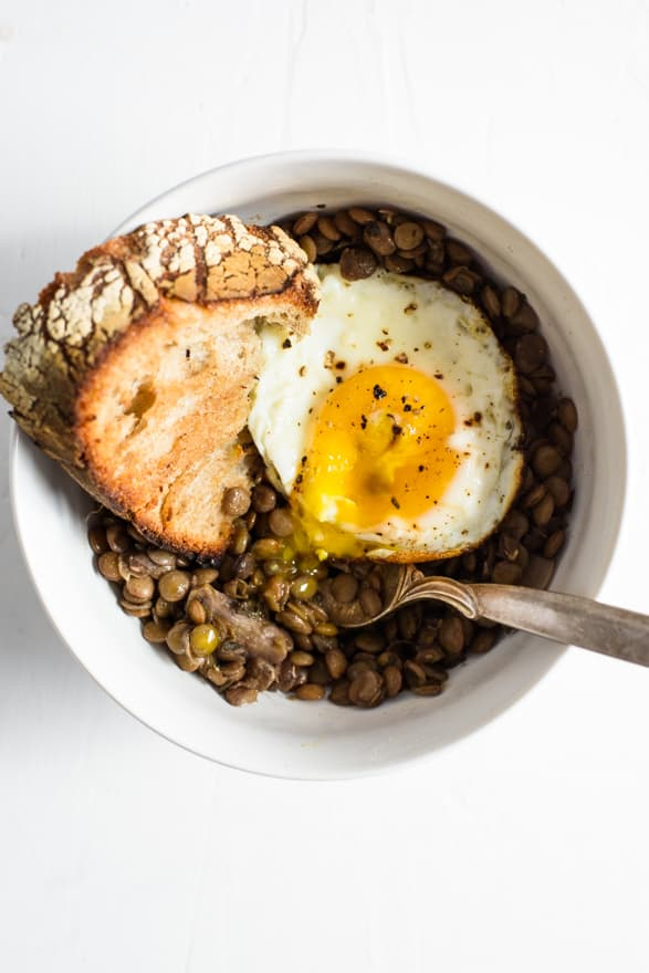 The Easiest Braised Lentils with Red Wine | The New Baguette