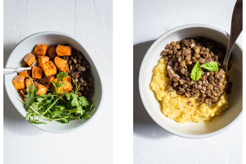 Braised Lentils Recipe - Served 2 Ways