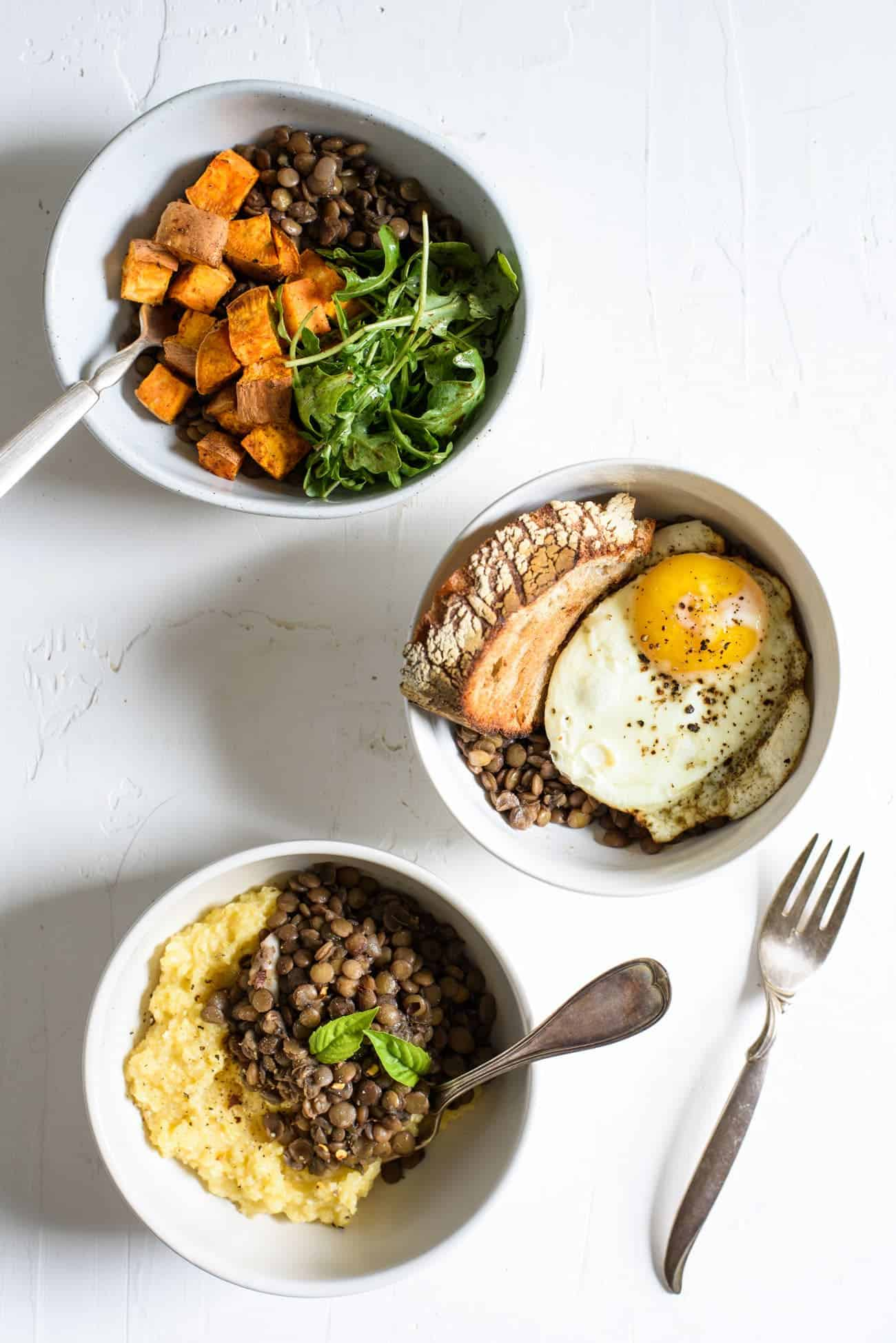 The Easiest Braised Lentils with Red Wine | The New Baguette #vegetarian #glutenfree #redwine #lentils #healthyrecipes