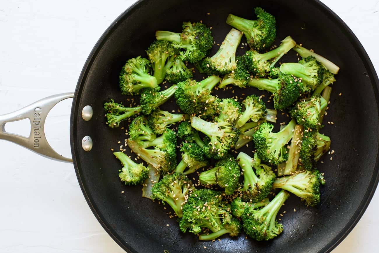 How to Saute Vegetables | Sauteed Broccoli | The New Baguette #vegan #glutenfree #healthycooking #vegetables