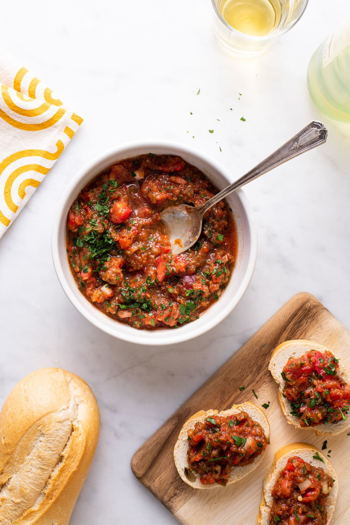 "Russian Roasted Eggplant Spread (Eggplant ""Caviar"") 