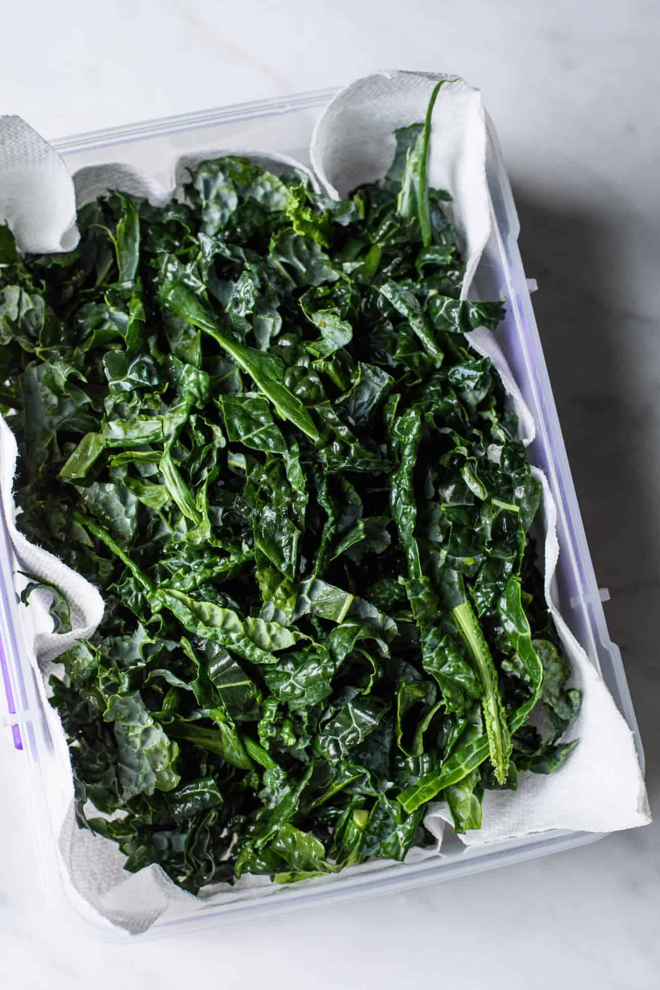 Chopped Lacinato Kale | The New Baguette