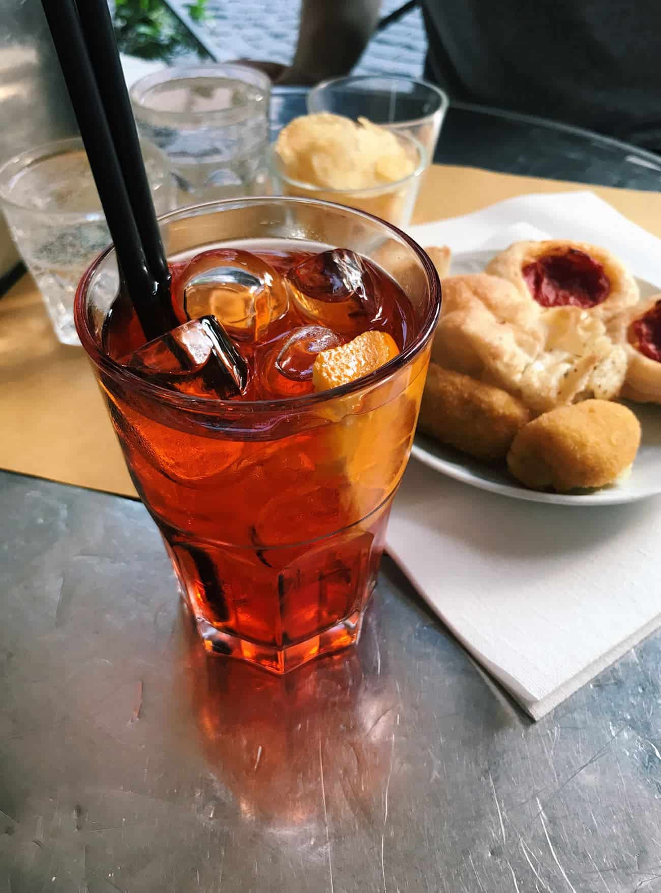 What to Eat in Rome: Recommendations for Pizza, Pasta & Gelato | Aperol spritz