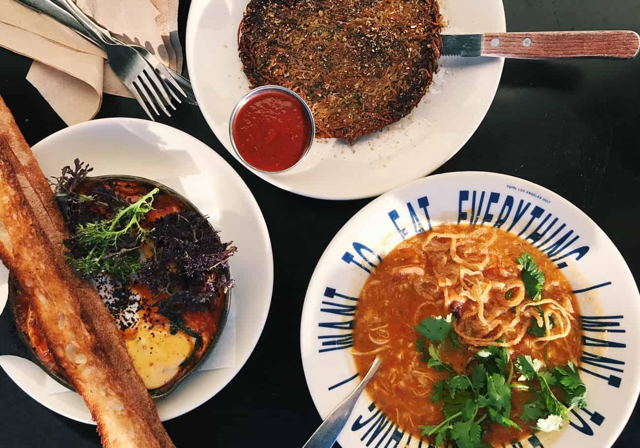 Lunch at Sqirl in Los Angeles | Shaqpeas, Thai Porridge, and a Potato Pancake